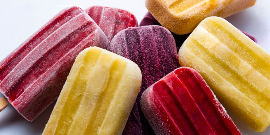 Popsicles aux fruits